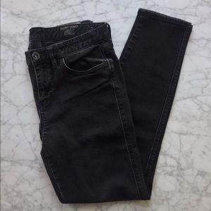 Madewell Skinny Skinny Ankle Jeans in Black, 28
